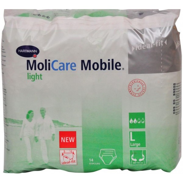MOLICARE MOBILE LIGHT LARGE PACK OF 14 - 915 863