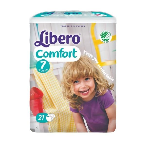 Libero® Comfort Size 7 Nappies
