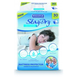 Whisper® Stay Dry Disposable Bed Pads
